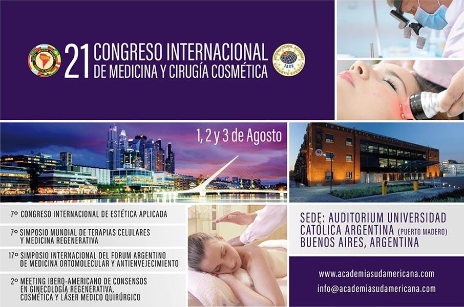 Congresso médico em Buenos Aires